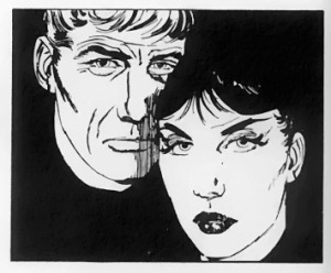 Modesty Blaise and Willie Garvin.