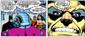 Mongul delivers some iconic and chilling dialogue. From page 12.