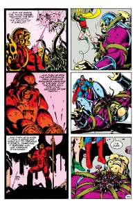Page 36 parallels Mongul's dream with his fate.