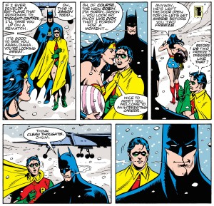 Jason Todd's adolescence provides some quick comedy. From page 2.