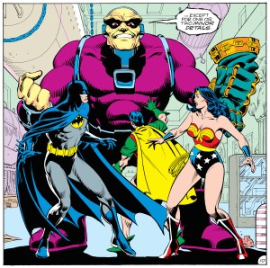 Alan Moore re-introduces Mongul as one of Superman's most frightening villains. From page 10.