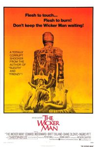 The Wicker Man, arguably the greatest of all folk horror films.