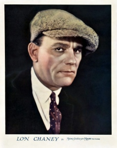 The man behind the make-up: Lon Chaney.