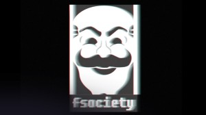 fsociety, the name of the group of hackers that Mr. Robot leads, utilises much of the imagery of Occupy Wall Street and the graphic novel V for Vendetta.