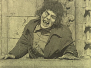 Lon Chaney's make up for Quasimodo is regarded as one of his very best.
