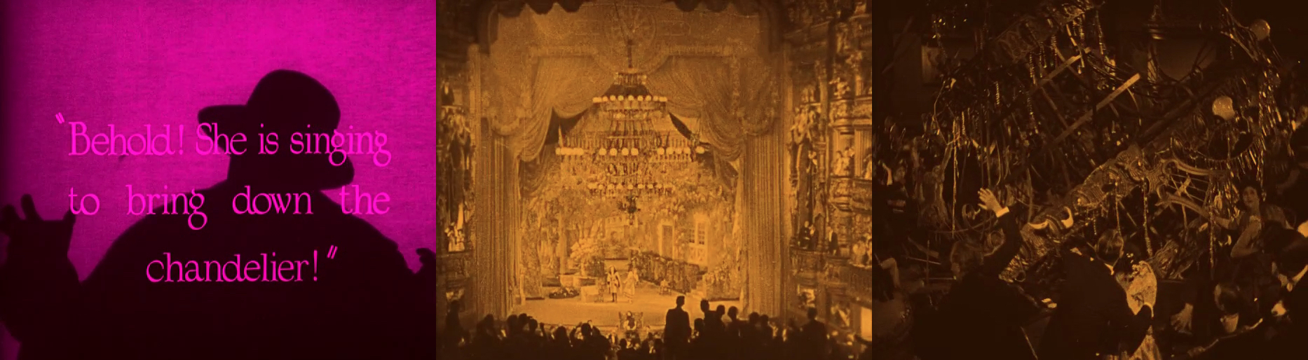 The Sequence In Which Opera House Chandelier Crashes Into Audience Is A Memorable Moment