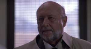 The ending of Halloween II is retconned so that both Dr. Loomis and Michael Myers survived the explosion, albeit with lots of burns.