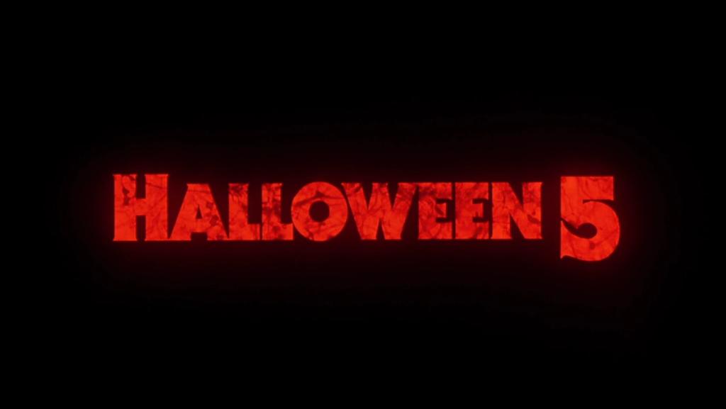 Halloween 5 Logo
