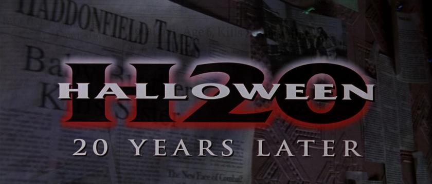 Halloween H20 - 20 Years Later Logo
