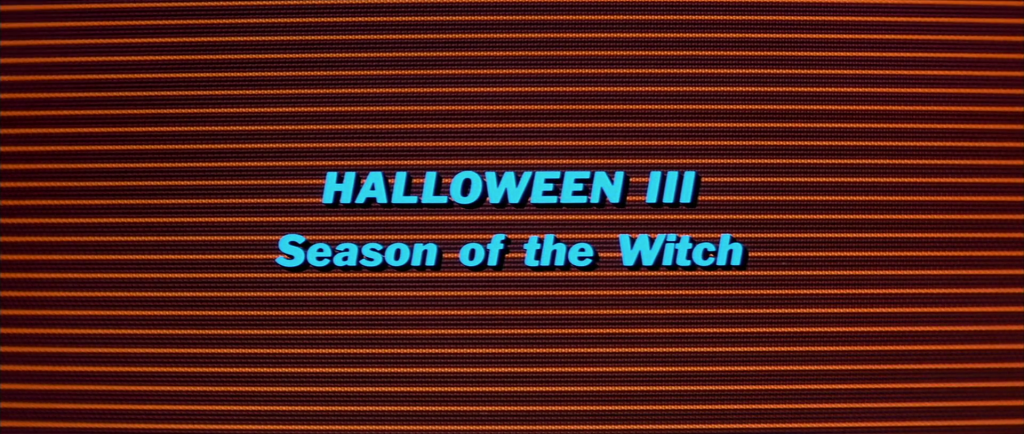 Halloween III - Season of the Witch Logo