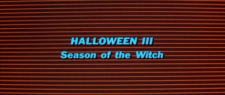 Halloween III - Season of the Witch Logo