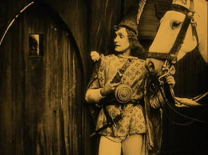 Knight Florian is a troubling figure within the film.