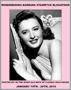 Remembering Barbara Stanwyck