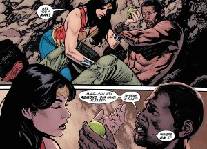 Wonder Woman Earth One 1